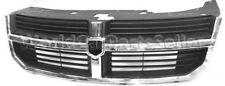 DODGE AVENGER 2008-2011 Front Grill Center Grille mat-black with chrom frame