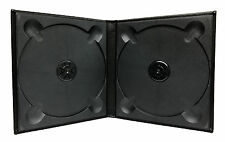 Bi-Fold Wedding CD / DVD Case 2 Disc - Black, Set of 2