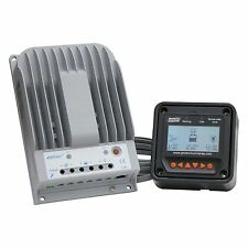 High efficiency 20A MPPT solar charge controller with LCD meter up to 260W input