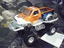 Cross-country car Big Wheeler Orange, pullbackmotor, light y sonido. aprox. 13