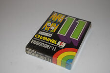 Fairchild Channel F VideoCartridge 11 Backgammon/Acey-Deucey New Sealed