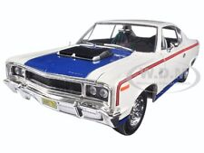 1970 AMC REBEL WHITE 1/18 DIECAST MODEL CAR BY ROAD SIGNATURE 92778