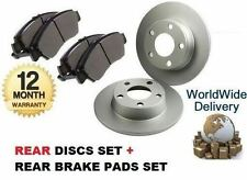FOR VW GOLF  5/1999-1/2004 1.9 SDi New REAR BRAKE Discs 232mm  + DISC Pads Set