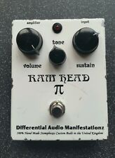 D*a*m Differential Audio Manifestationz RAM HEAD guitar fuzz effect pedal