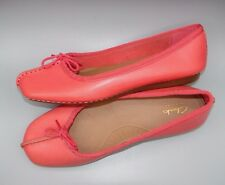 """""""FRECKLE ICE""""Clark's Women/Ladies CORAL Leather Shoes size 4 D."""