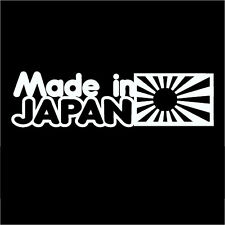 Funny Made In Japan Car Sticker Decal For Jdm Illest Drift Hoon