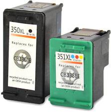 SET HP 350 XL + 351 XL Photosmart C4280 C4380 C4480 C4580 C5280 Officejet J5780
