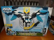 "MAX STEEL, TURBO MORPH MAX STEEL 6"" FIGURE, NEW IN PACKAGE, 2013"
