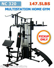 NEW MULTI STATION HOME GYM FITNESS EQUIPMENT with Weight