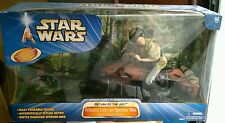 "RARE! Star Wars: Return of the Jedi 12"" 1/6 scale Princess Leia on Speeder Bike"