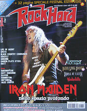 ROCK HARD 9 2010 Iron Maiden Opeth Accept Cradle Of Filth Unisonic Soulfly