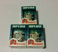 Vintage Sergeant's Ship's Helm - Aquarium Ornament & Aerator - Lot of 12