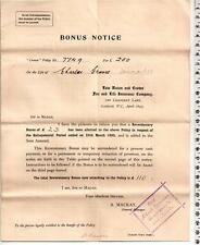 1895 - Law Union & Crown Fire & Life Insurance Company Letter - Chancery London