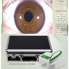 5.0M Pixels USB Left/Right lamp Iriscope Iridology camera with Pro Software