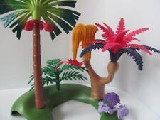 Playmobil Dinosaurio/Selva/Safari Paisaje Palmera:, plantas tropicales & helechos Nuevo
