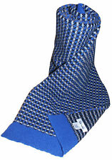 PAUL SMITH THICK WOOL BLUE CHECK SCARF BNWT RARE