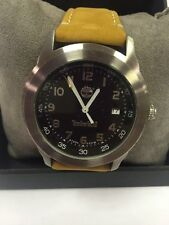 Timberland Men's Leather Band Watch NWOT