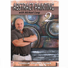 Art Instruction DVD '' Abstract Painting 2 '' Michael Lang How To Demonstration