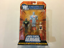 DC Universe Justice League Unlimited 3-pack Green Lantern Captain Atom Supergirl
