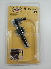 Pennzoil Quart Fluid-Oil Transfer Pump for Auto Car Truck Motorcycle Boat RV