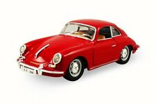 1956 Porsche 356B/C, Red, Road Signature 94220, 1/43 Scale Diecast Model Toy Car