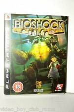 BIOSHOCK GIOCO USATO OTTIMO STATO PRIMA STAMPA VERSIONE UK CARTONATA PS3 FS1