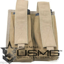 Molle 2X pod étui pour veste tactique (coyote tan) [AT5]