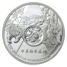 2016 China 1 oz. Proof Silver Official Panda Anaheim ANA Show In OGP SKU42297