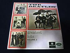 THE BEATLES Greatest Hits Vol 2 SINGAPORE ASIA YELLOW PARLOPHONE LP Vinyl *RARE*