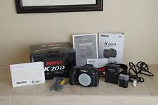 PENTAX Pentax K K20D 14.6 MP Digital SLR Camera - Black (Body Only)
