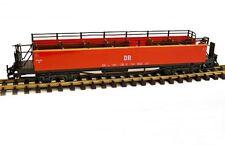Train offener Personenwagen, rot, DR oder HSB, Spur G, für LGB Kupplung