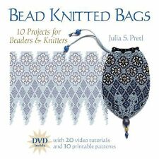 Bead Knitted Bags: 10 Projects for Beaders and Knitters-ExLibrary