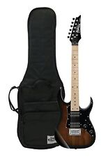 Ibanez Mikro Kid's 3/4 Size Electric Guitar - Walnut Sunburst w/ Free Gig Bag