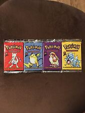Pokemon Base Set 2 Booster Pack - Factory Sealed - Fresh From Box. One Pack!