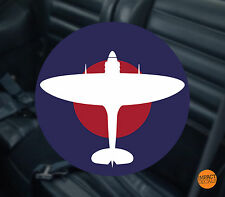 Spitfire Window Decal / Supermarine Spitfire Window Sticker