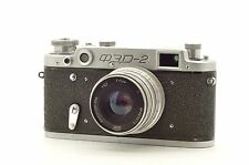 ▶  FED-2 35mm vintage film Rangefinder Camera USSR with Industar-26m 2,8/52 lens