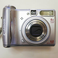 Canon PowerShot A540 6MP 4X opt zm Digital Camera  MINT condition