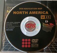 2011 Update 2004 2005 Toyota Prius Hybrid GEN4 Navigation DVD Map U.S Canada OEM