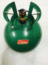 VTG Coleman CAMPING round LP propane GAS CYLINDER refillable TANK stove LANTERN