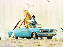 1963 Pontiac TEMPEST Dealer Sales Brochure: LeMans, Le Mans, Station Wagon,