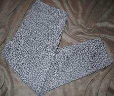 NYDJ Not Your Daughter's 8P Ankle Jeans W32 x L25 Patterned Animal Print Gray
