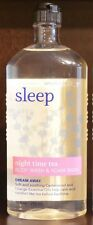 NEW BATH & BODY WORKS AROMATHERAPY SLEEP NIGHT TIME TEA WASH SHOWER GEL FOAM HTF
