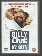 BILLY CONNOLLY - Bites Yer Bum 1981 & Hand Picked by Billy 1982 - UK R2 DVD