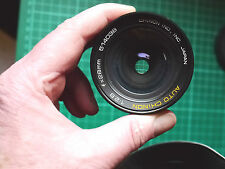 Chinon Auto 28mm f2.8 Prime in Pentax M42 Screw thread fitting