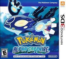 Pokemon: Alpha Sapphire - Nintendo 3DS Game