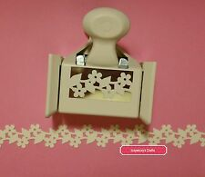 Martha Stewart BLOSSOM TRIM deep edge floral paper craft punch new (1600)