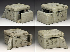 KING & COUNTRY WW2 GERMAN ARMY WS193 NORMANDY PILLBOX MIB