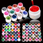 3/12/24/36 Mix Color Solid Pure Glitter Gel Acrylic UV Builder Sets for Nail Art