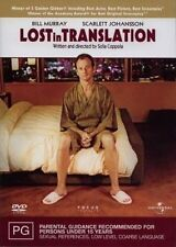 Lost In Translation (2003) Bill Murray, Scarlet Johansson - NEW DVD - Region 4