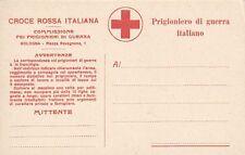 A5446) FRANCHIGIA CROCE ROSSA PRIGIONIERO DI GUERRA ITALIANO COMMISSIONE BOLOGNA